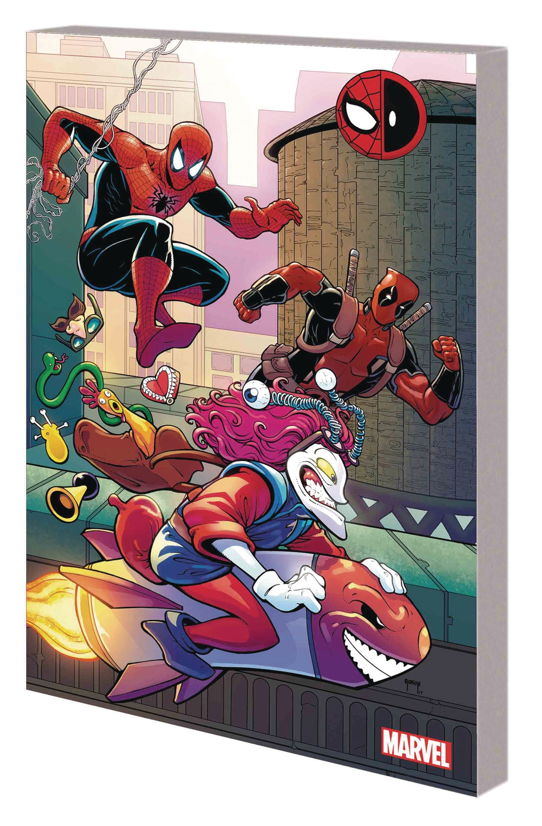Spider-Man Deadpool TP Vol 04 Serious Business