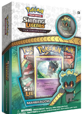 Pokemon Shining Legends Pin Box: Marshadow