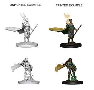 D&D Unpainted Minis: Elf Female Druid