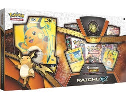 Pokemon Shining Legends Raichu GX Box