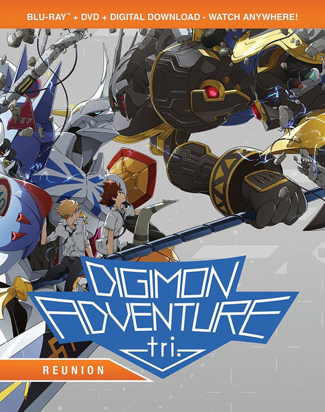 Digimon Adventure Tri: Reunion Blu-ray