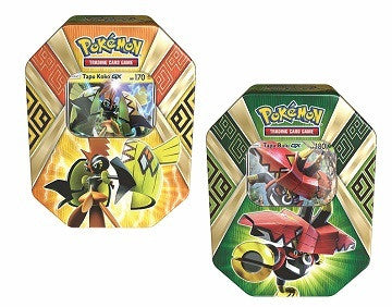 Pokemon Summer Tins 2017: Island Guardians