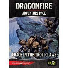 D&D Board Game: Dragonfire - Chaos in Trollclaws