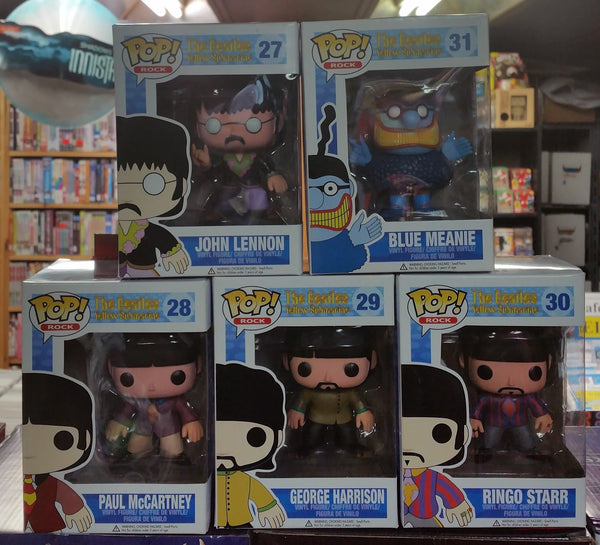 Funko Pop - The Beatles 5-Piece Set