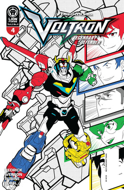 Voltron Legendary Defender Vol 2 #4