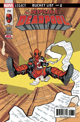 Despicable Deadpool #292 Leg