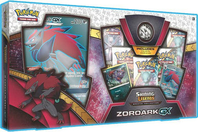 Pokemon Shining Legends Zoroark GX Box