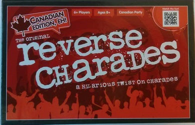 Reverse Charades: Canadian Edition