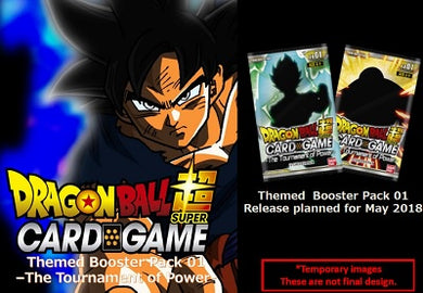 Dragon Ball Super The Tournament of Power Booster Box [Pre-Order 05/15/18]
