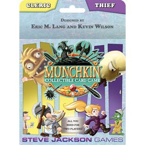 Munchkin Collectible Card Game: Cleric and Thief 2-Player Starter