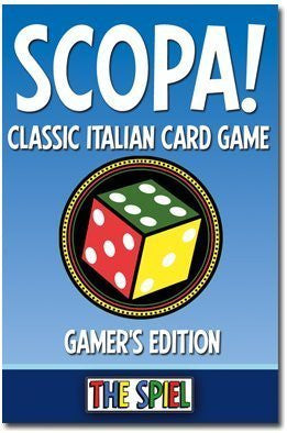 Scopa!: The Classic Italian Card Game- Gamer`s Edition