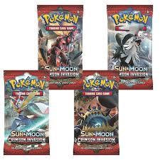 Pokemon SM4 Crimson Invasion Booster Pack