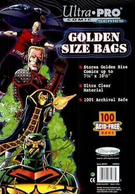 Ultra Pro Golden Size Bags