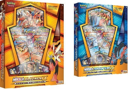 Pokemon Mega Blaziken EX Box