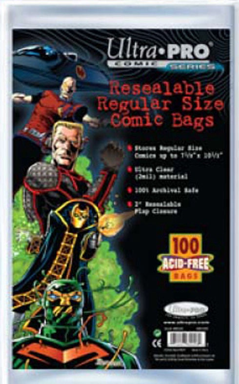 Ultra Pro Comic Bags: Regular