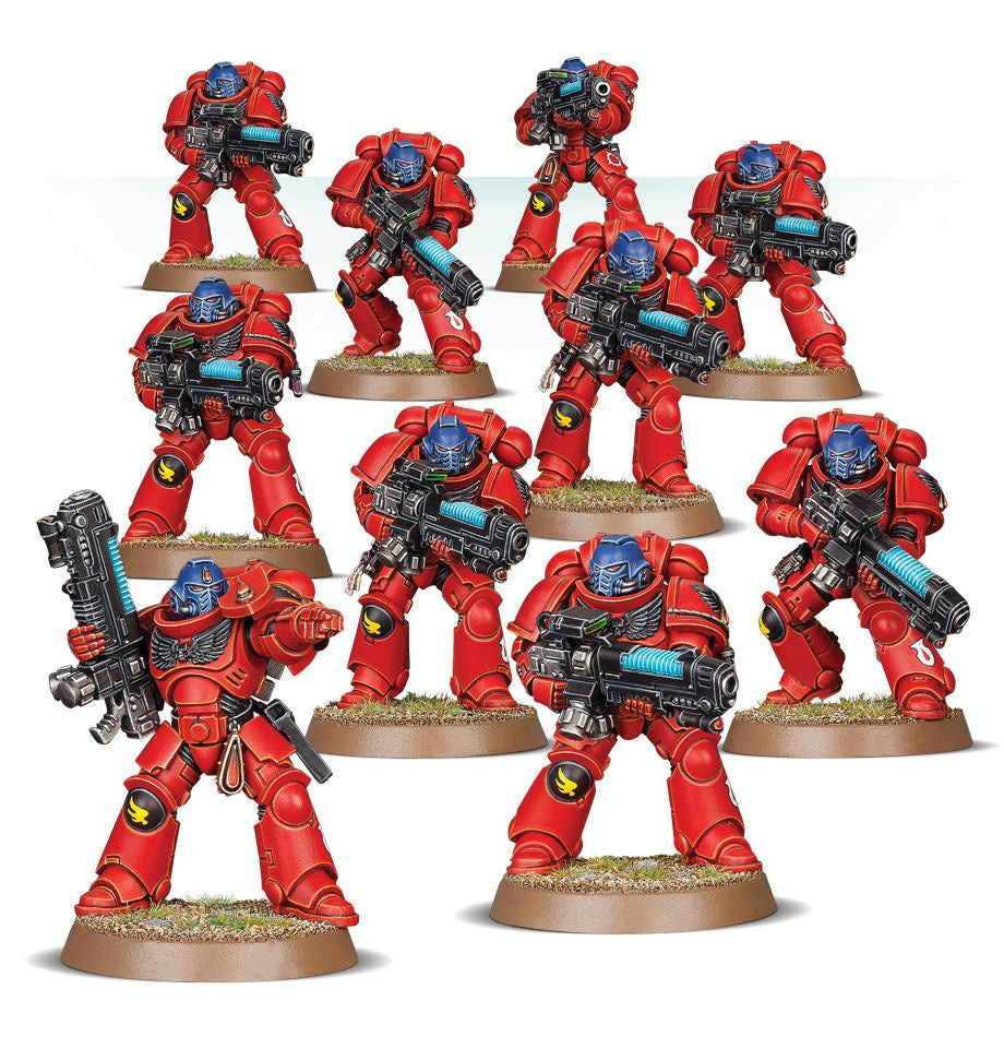 Warhammer 40k: Blood Angels Primaris Hellblasters