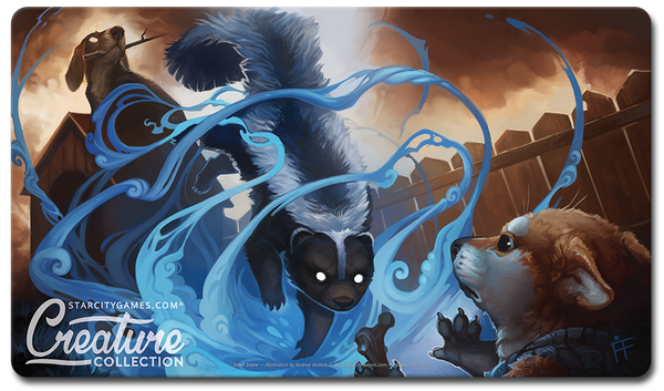 StarCityGames.com Playmat - Creature Collection - Smell Snare