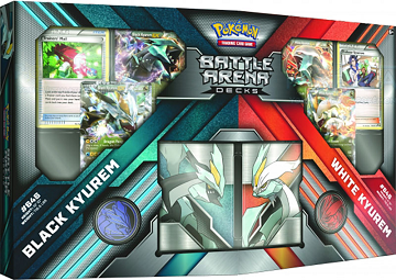 Pokemon Battle Arena Deck: Black Kyurem vs. White Kyurem