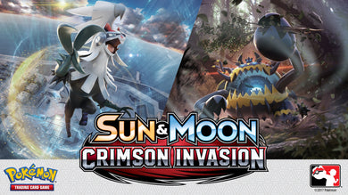 Pokemon SM4 Crimson Invasion Pre-Release Box