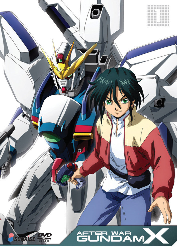After War Gundam X Collection 1 DVD