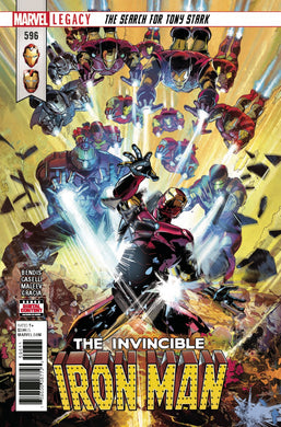 Invincible Iron Man #596 Leg