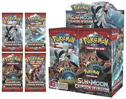 Pokemon SM4 Crimson Invasion Booster Box