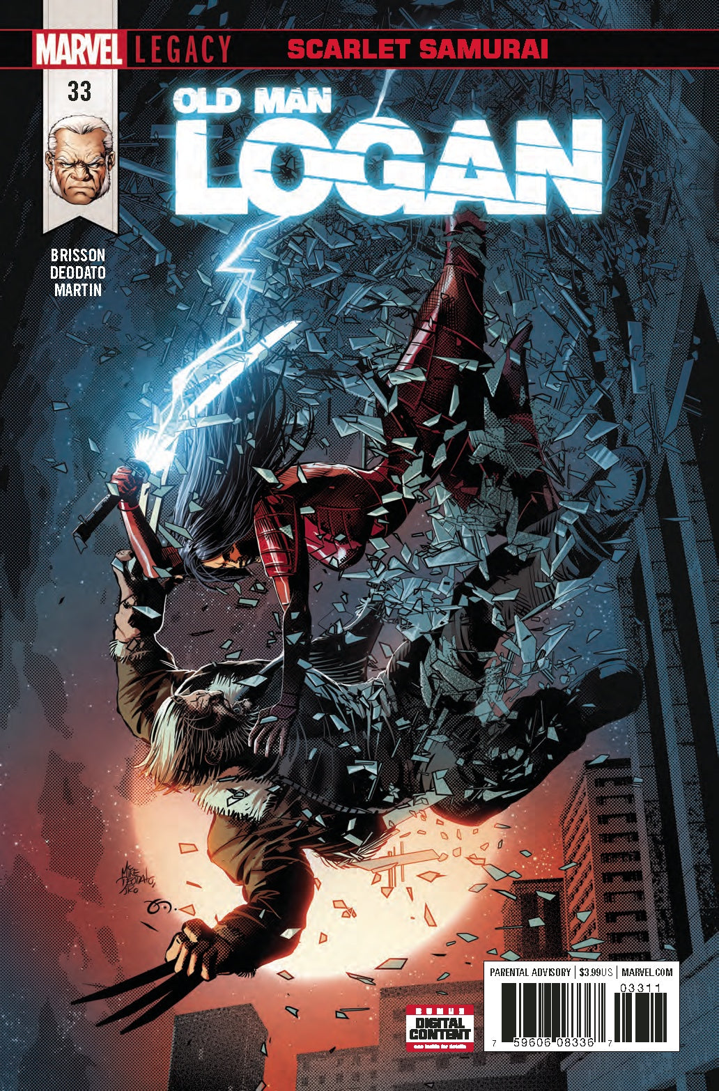 Old Man Logan #33 Leg