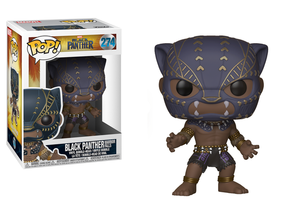 Funko Pop Black Panther Warrior Falls