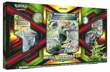 Pokemon Mega Tyranitar EX Box