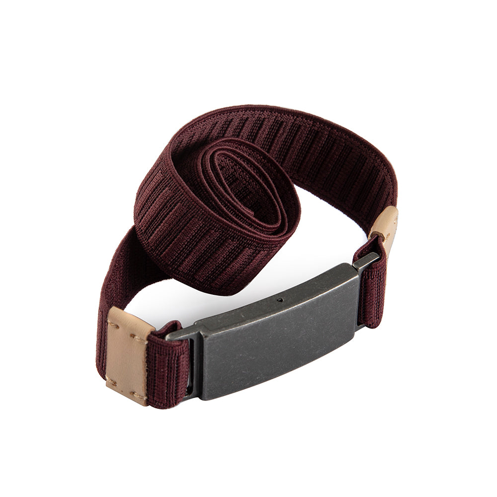 Seat Belt - Burgundy - The Frock NYC