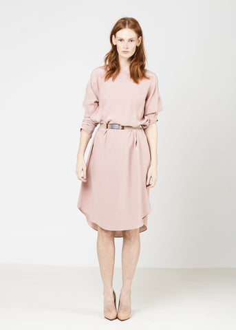 The Silky T Dress - Blush