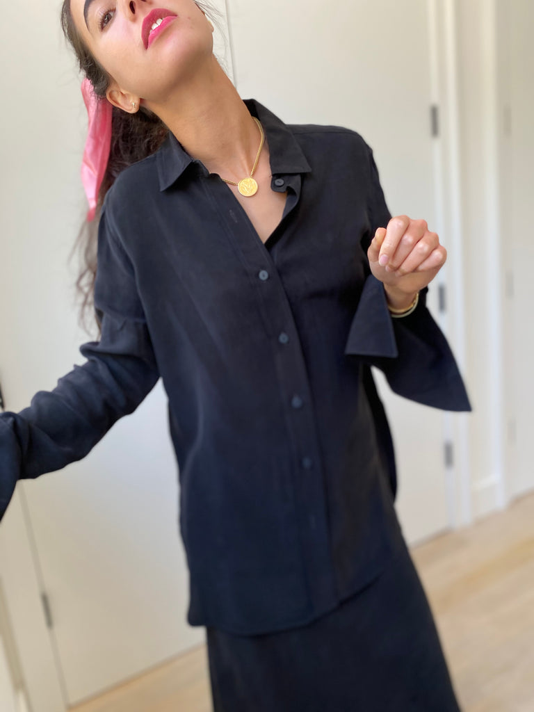 The Blouse - Black - The Frock NYC