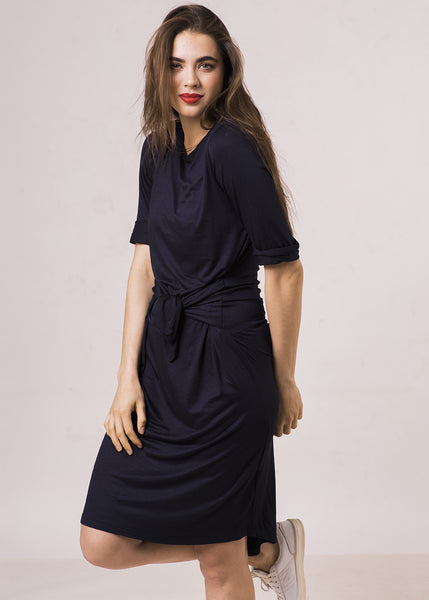 The FrockClassicT Dress - Navy - $88