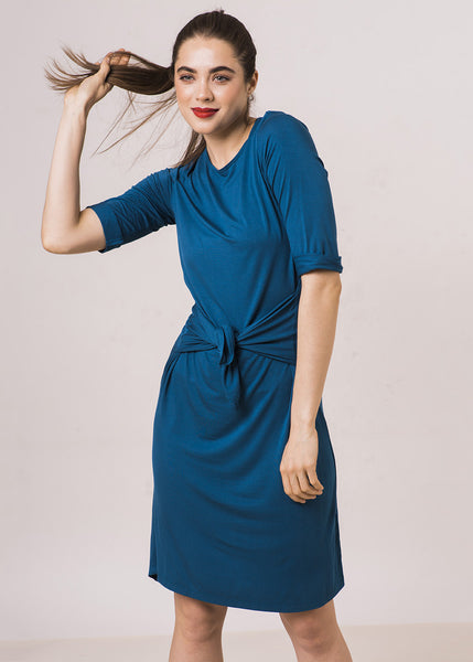 The Frock ClassicT Dress -Teal - $88