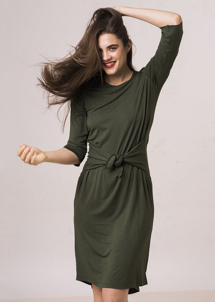 The FrockClassicT Dress - Matcha Green $88