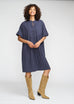 Dream Navy Dress - everyday Rayon