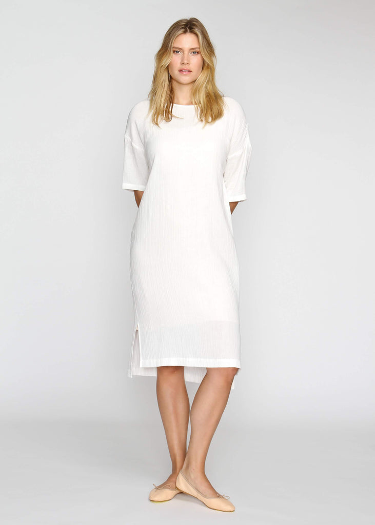 The Chill Dress- White - The Frock NYC