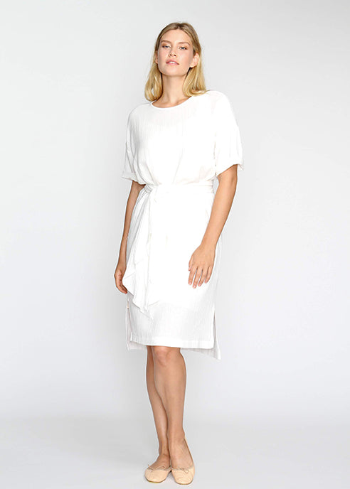 The Chill Dress- White -Last Chance Final Sale - The Frock NYC
