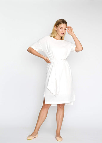 The Chill Dress- White