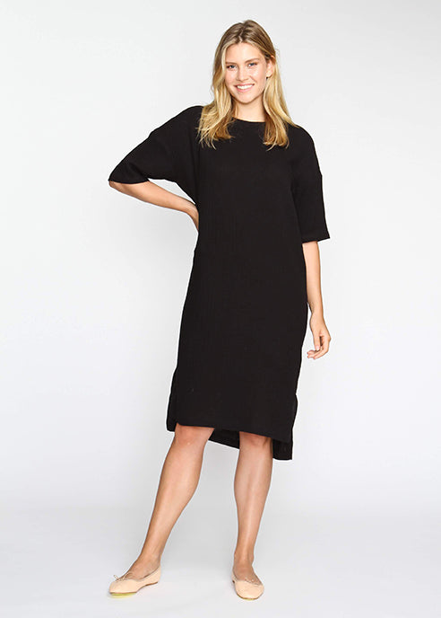 The Chill Dress- Black - The Frock NYC