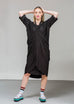 Apron Dress - Black