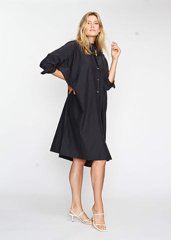 The Shirt Dress - Navy