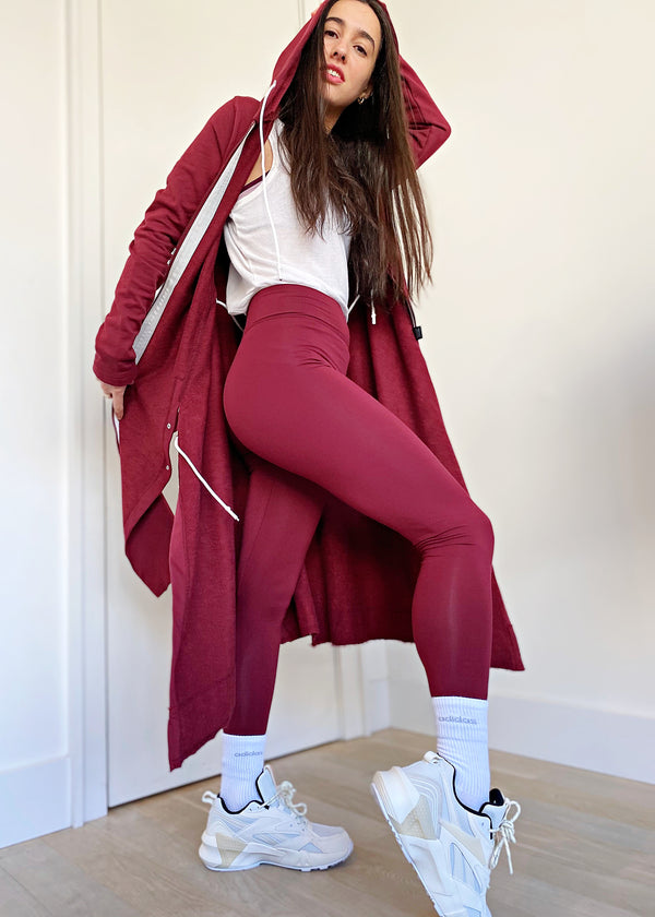 Legging - Burgundy - The Frock NYC