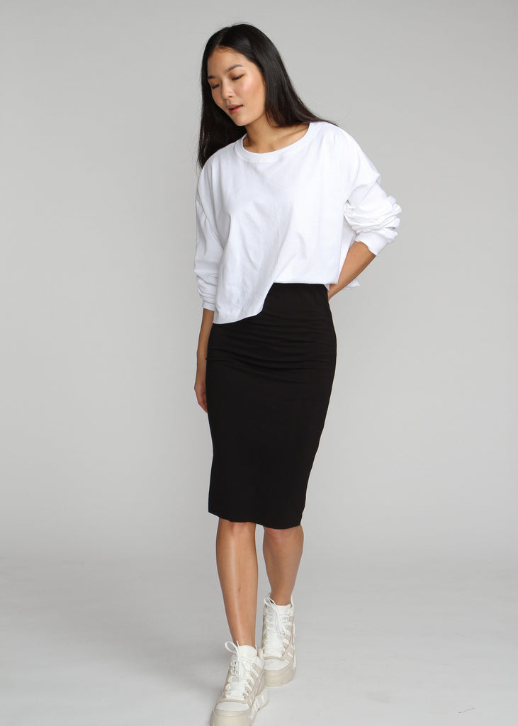 Tube Skirt - Black -  Final Sale - The Frock NYC