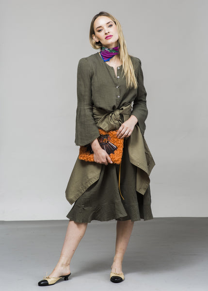 The Frock Boheme- Olive- $138