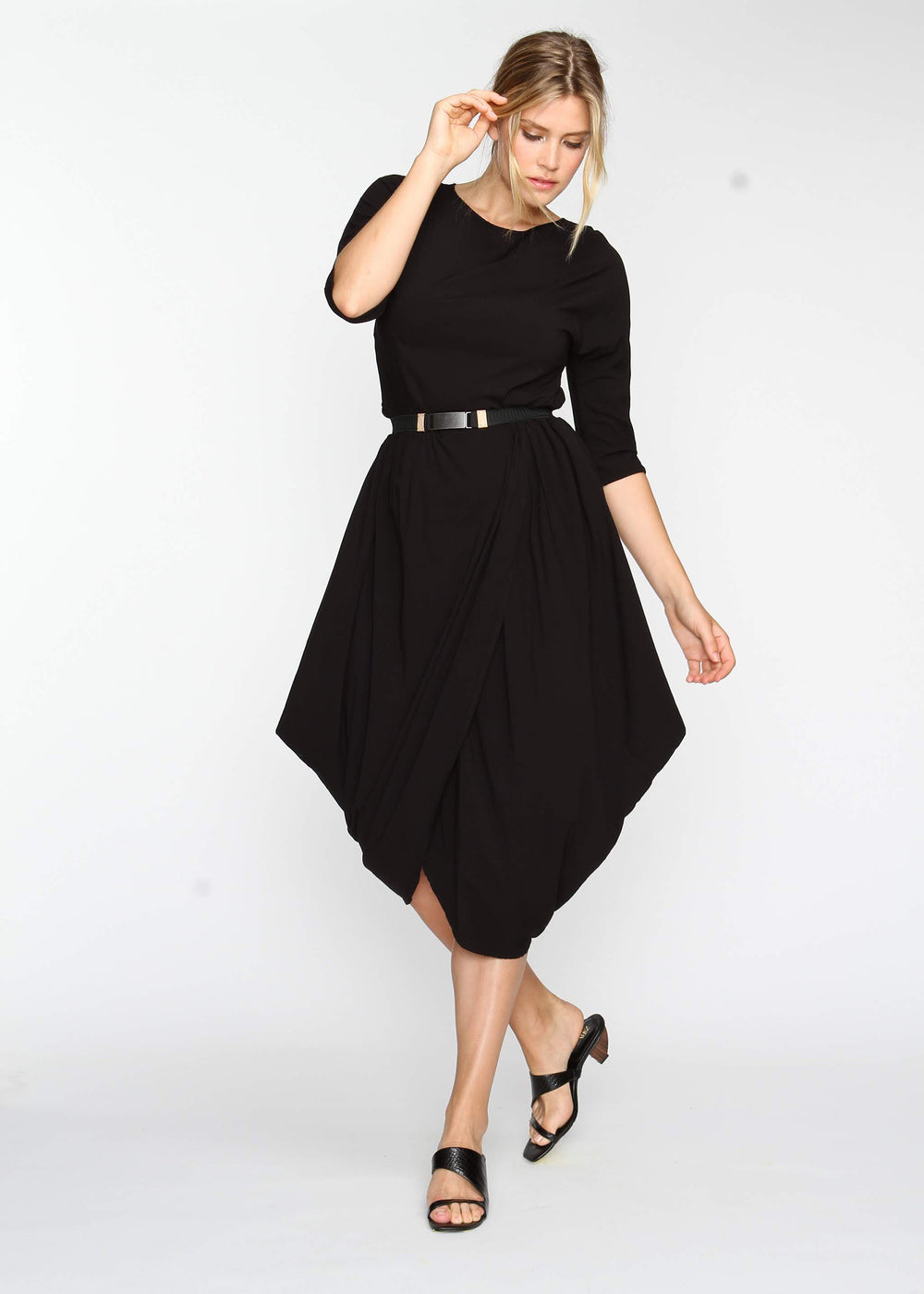 Year Round Maxi AKA YRM -  Black - Last Chance Final Sale - The Frock NYC