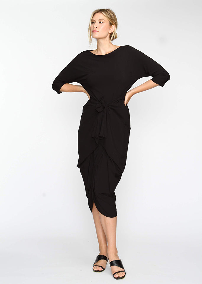 Year Round Maxi AKA YRM -  Black - The Frock NYC
