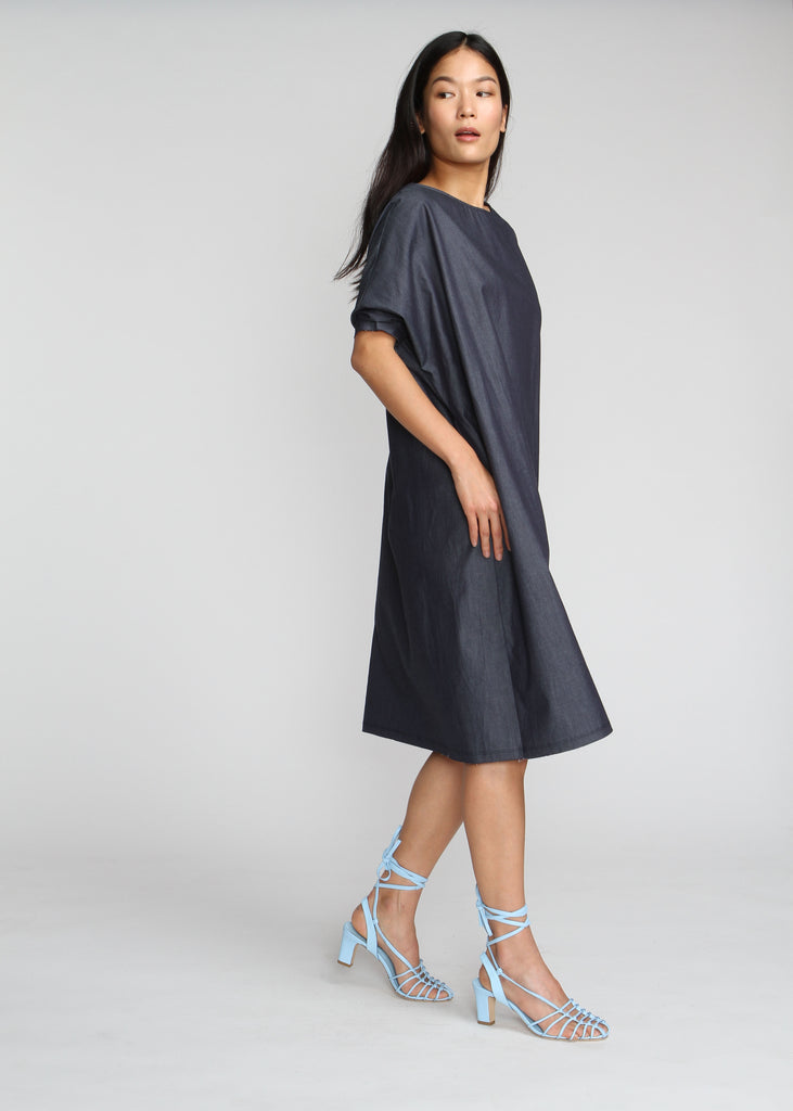 Shift Dress - Denim - Last Chance Final Sale - The Frock NYC