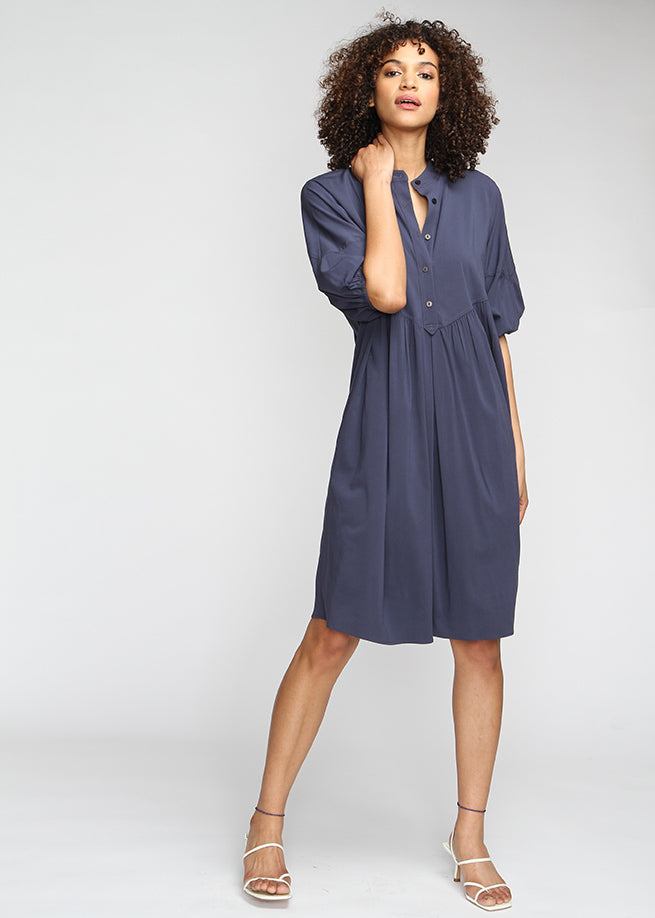 Dream Dress - Navy - The Frock NYC