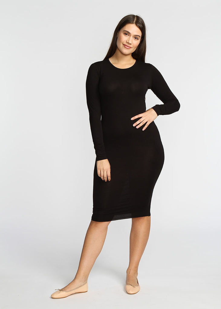 Tube Dress- Black - The Frock NYC